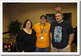 Dana Reeves, Whitney Roberts and Joel Reeves